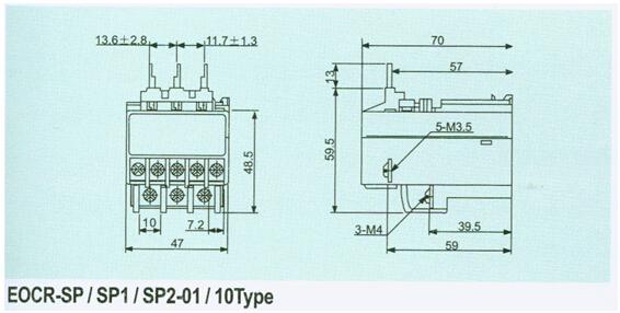 韩国eocrsp-20ny7三和eocr电机保护器